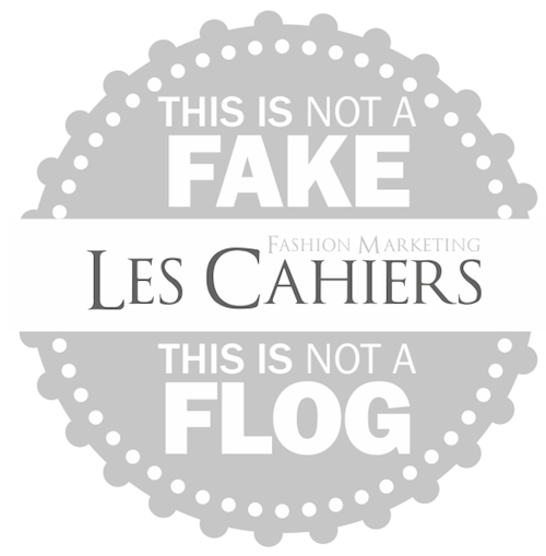 Le cahiers Fashion Marketing