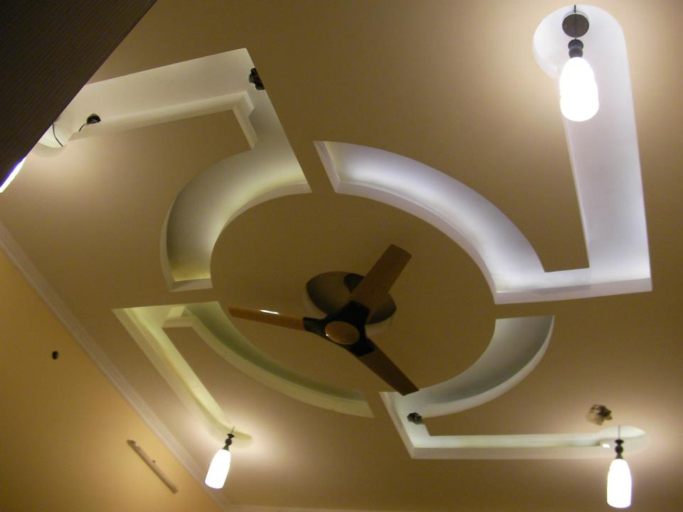 genesis of art interiors project 1   false ceiling bed