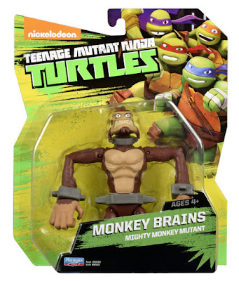 TOYS : JUGUETES - LAS TORTUGAS NINJA  Dr. Rockwell | Monkey Brains | Figura - Muñeco  Teenage Mutant Ninja Turtles  Producto Oficial Serie Nickelodeon 2015 Playmates 90581 | A partir de 4 años Comprar en Amazon España & buy Amazon USA