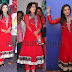 Padmini Red Rich Salwar