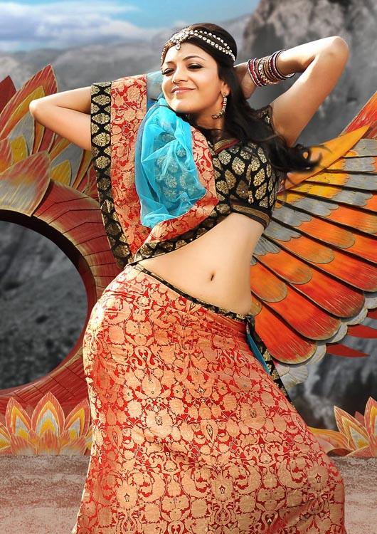 Kajal Agarwal Hot Back Show In Nayak Kajal Agarwal Latest H...