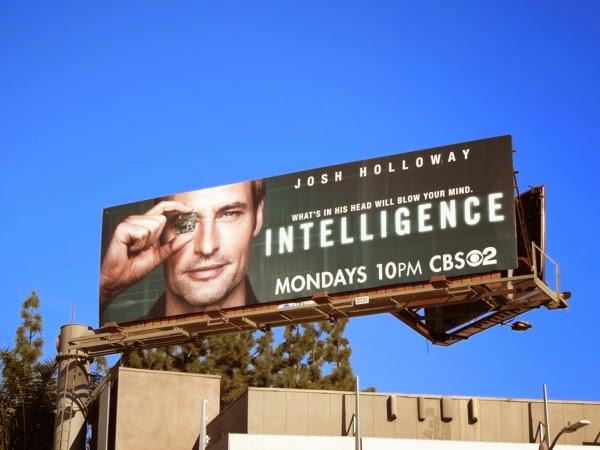 Josh Holloway Intelligence TV billboard
