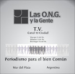 """Programa TV Canal 10 Ciudad """"Las ONG y La Gente"""""""