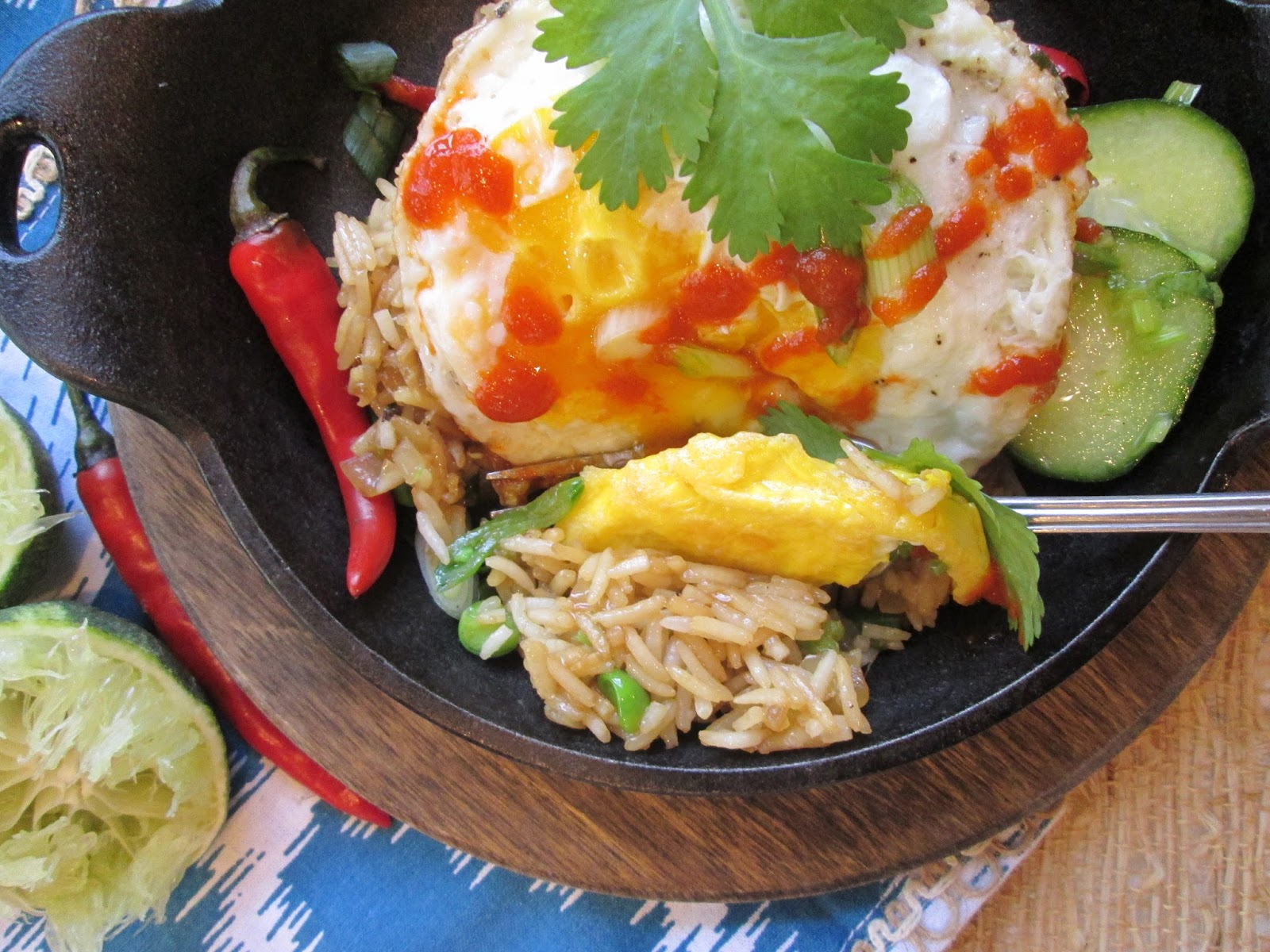 Stirring the pot jamie olivers nasi goreng ihcc monthly featured chef jamie oliver ccuart Choice Image