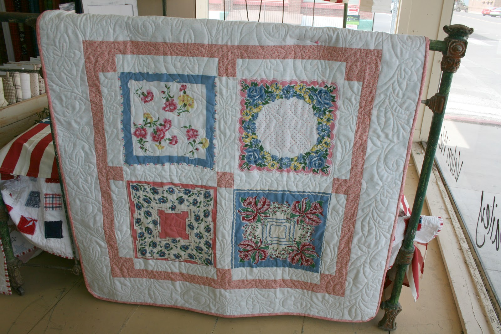 The Quilt Barn Baby Hankie Quilt Tutorial
