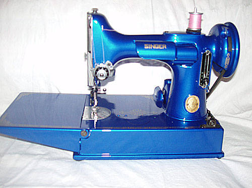 Male Pattern Boldness Whatever Happened To The Singer Featherweight Classy 1951 Singer Sewing Machine Ebay