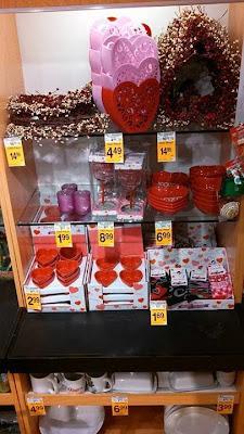 Safeway early Valentine's Day