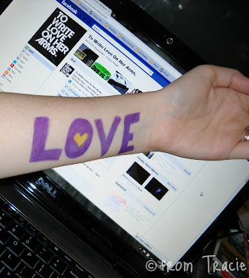 To Write Love On Her Arms, self injury