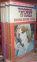 Topeng Kaca Bayang Bayang Jingga Bekas