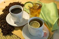 علاج الربو بالشاي والقهوة