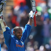 Shikhar Dhawan slams double ton for India