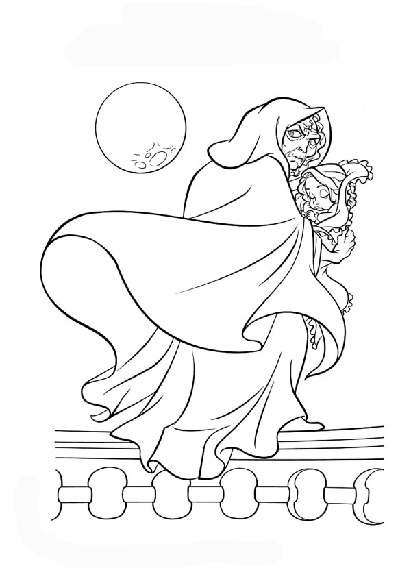 Wicked Witch Disney Coloring Pages