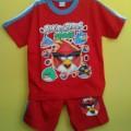 Baju Stelan Angry Birds – Lucu, Cocok Untuk Buah Hati Anda