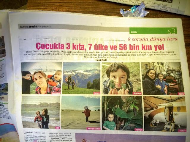 Gezgin Anne Hürriyet Gazetesi