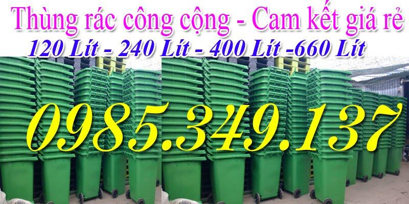 thùng rác công cộng-thùng rác nhựa 0985 349 137
