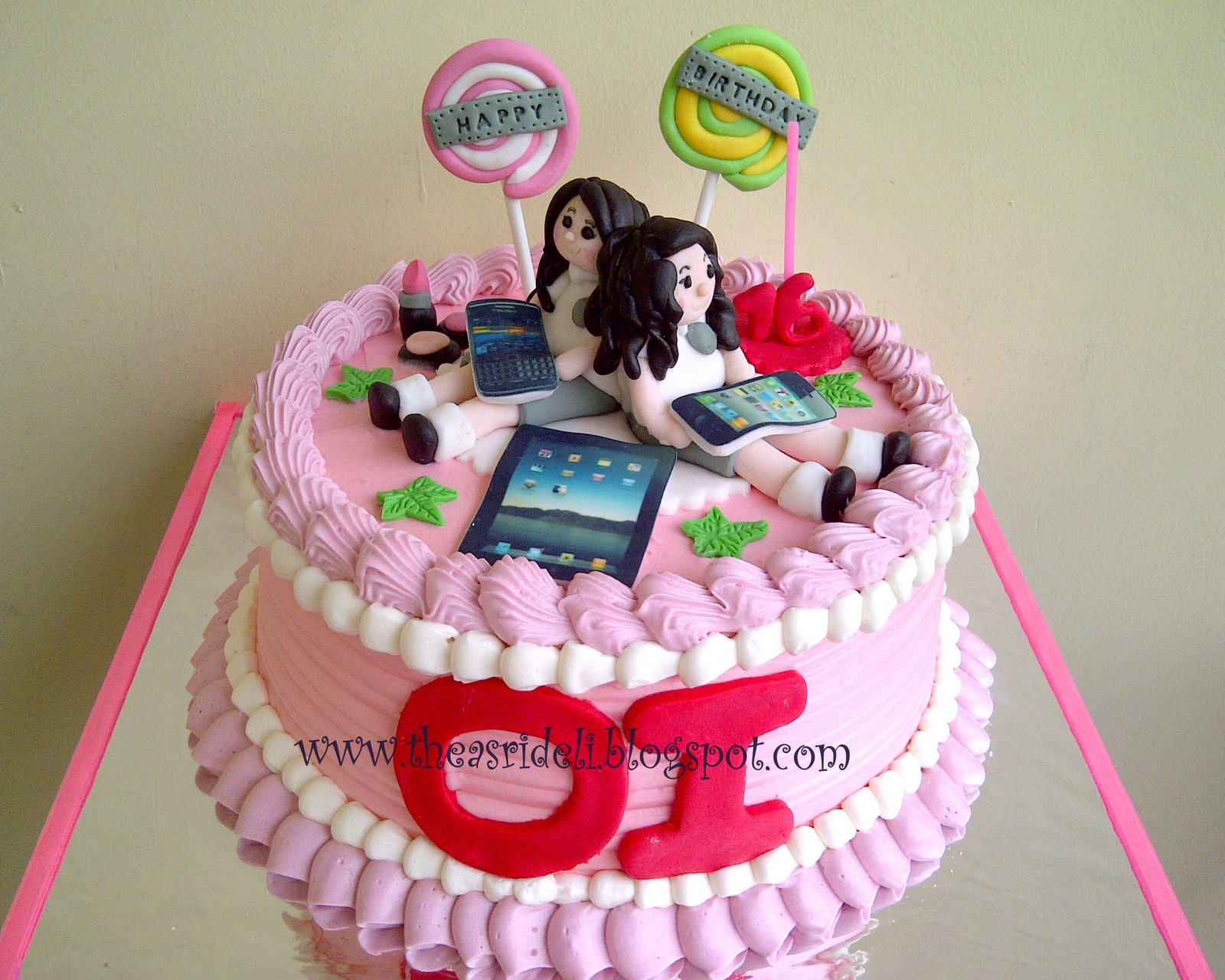 asrideli.com: Best Friends Cake