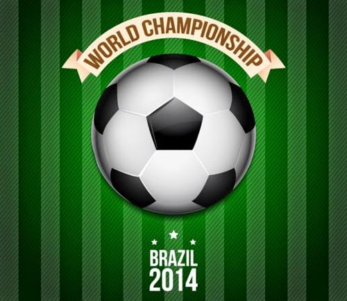 Vector Brazil 2014 Poster Design