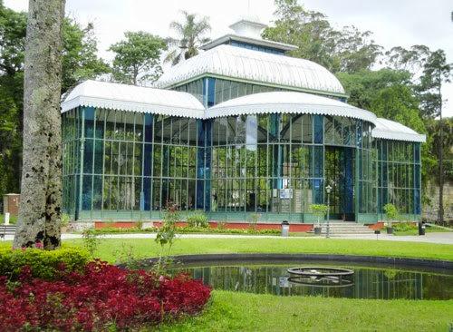 Palacio de Cristal en Petrópolis, Brasil