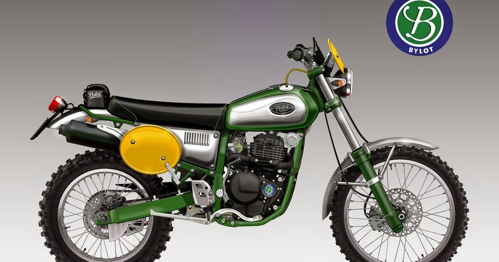 Motosketches Bylot Six Days 350