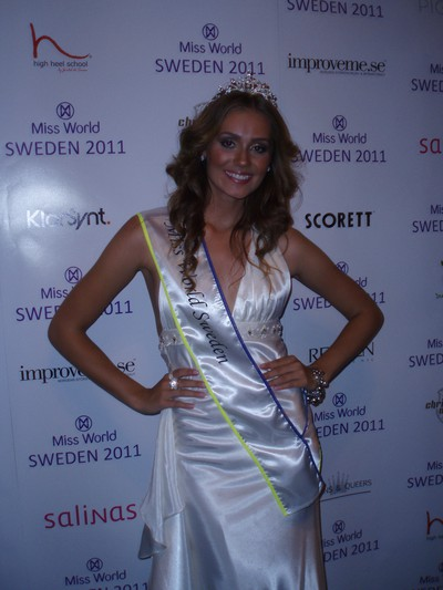 Miss World Sweden 2011 - Nicoline Artursson