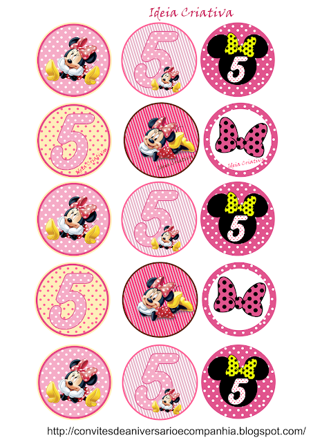 Toppers Diversos Minnie