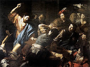 Why did Jesus thrash the corrupt and crazed Hebrew moneychangers from the temple?