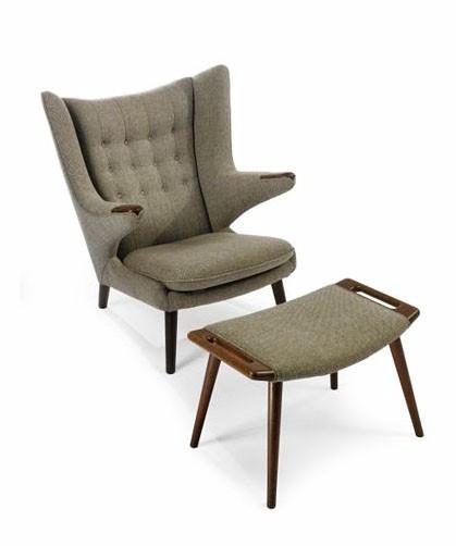 Things i like furniture designer hans wegner for Wishbone chair knock off