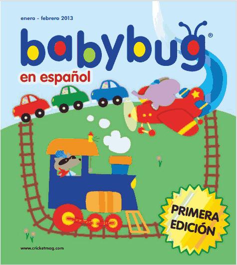 Mommy Maestra Cricket Magazine Launches Babybug En Espanol