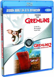 Gremlins y Gremlins 2 en Blue-Ray desde 10,8€