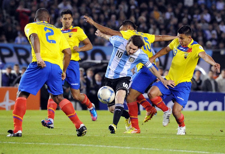 Ecuador vs Argentina en vivo