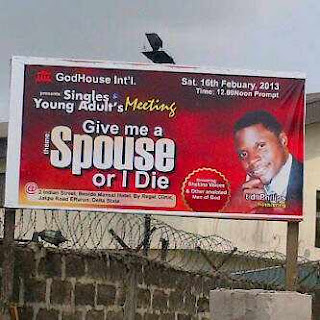 Funny Church Posters And Catchy Phrases Used Nigerian Churches