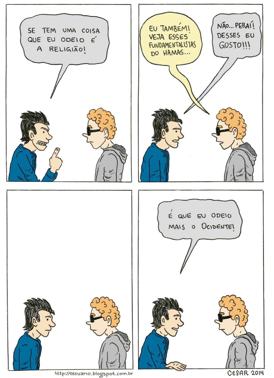 Cesar Andrade - cartunista