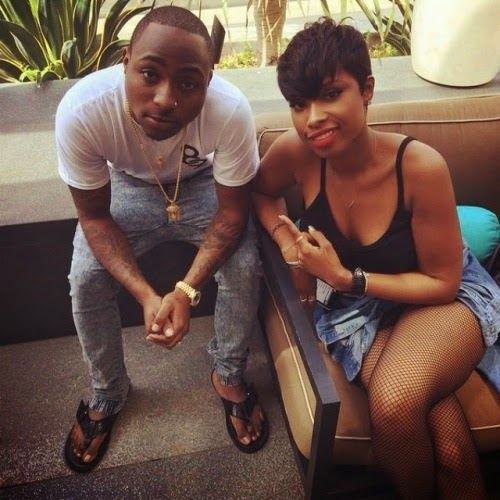 Pics: Davido hangs out with Jennifer Hudson in LA + Tiwa at the gym1