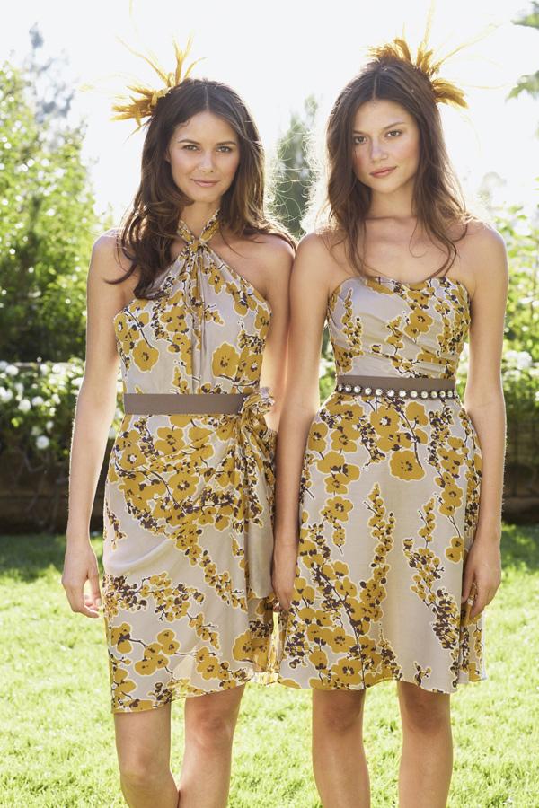 Frühjahr Hochzeit Brautjungfer Kleider