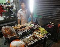 Yangon nightlife in Chinatown