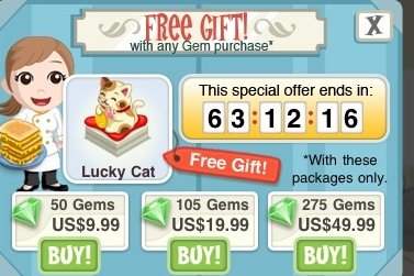 how to get gems in bakery story