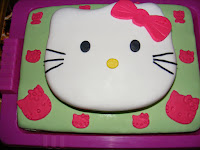 Emeletes Hello Kitty torta
