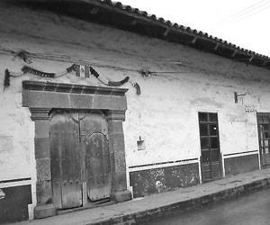 Casa de inquisición en Zacatlán