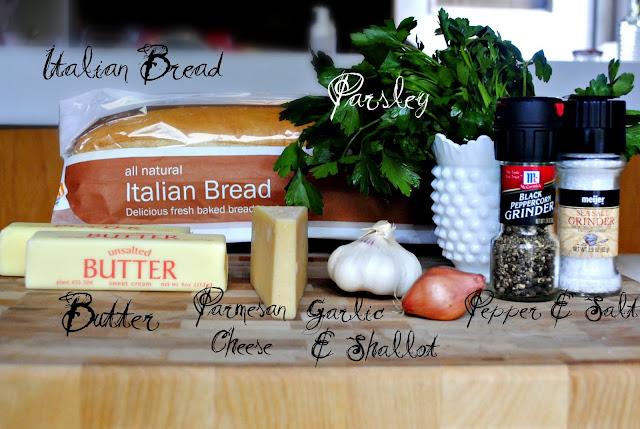 Parmesan Garlic Bread l SimplyScratch.com