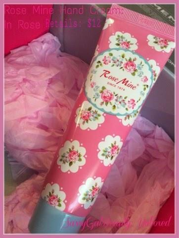Memebox:  Rose Mine Perfumed Hand Cream in Rose