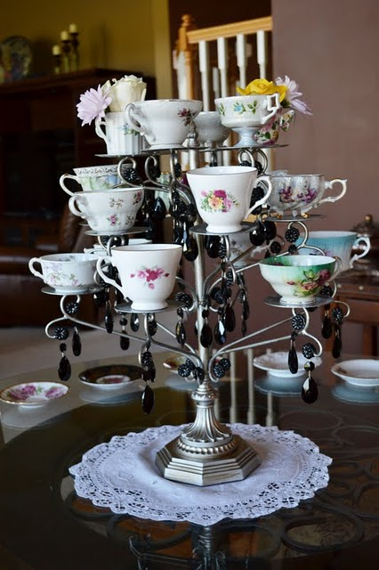 Madison Makes How To Display Tea Cups