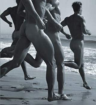 BRUCE WEBER is known for shooting quite a few homoerotic images.