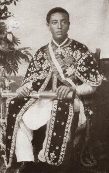 Iyasu V Emperador de Etiopía en 1914