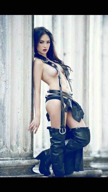 ELLEN ADARNA Nude