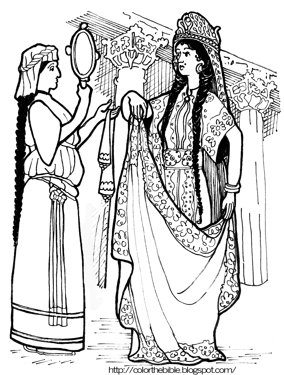 color queen esther color queen esther queen elizabeth ii coloring pages