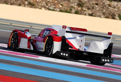 Toyota TS030 Hybrid LMP1 2012 Rear Side