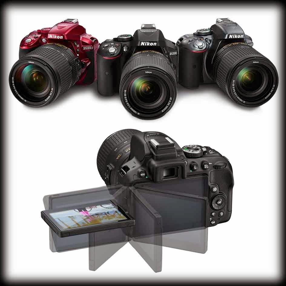 Spesifikasi dan Harga Kamera DSLR Nikon D5300