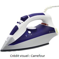 fer à repasser Carrefour Home