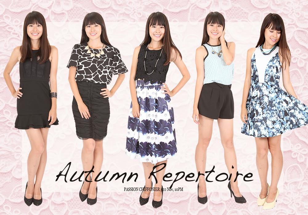 Collection 60 – Autumn Repertoire