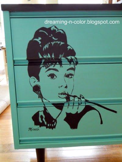 http://dreaming-n-color.blogspot.com/2011/07/audrey-hepburn-dresser.html